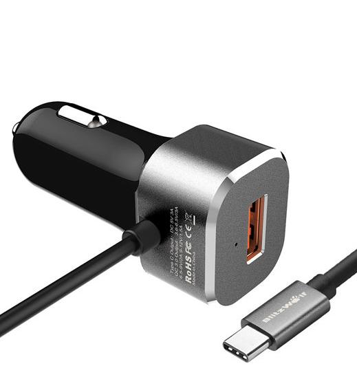 מחיר מעולה למטען QC3 USB type C – רק 6.85$