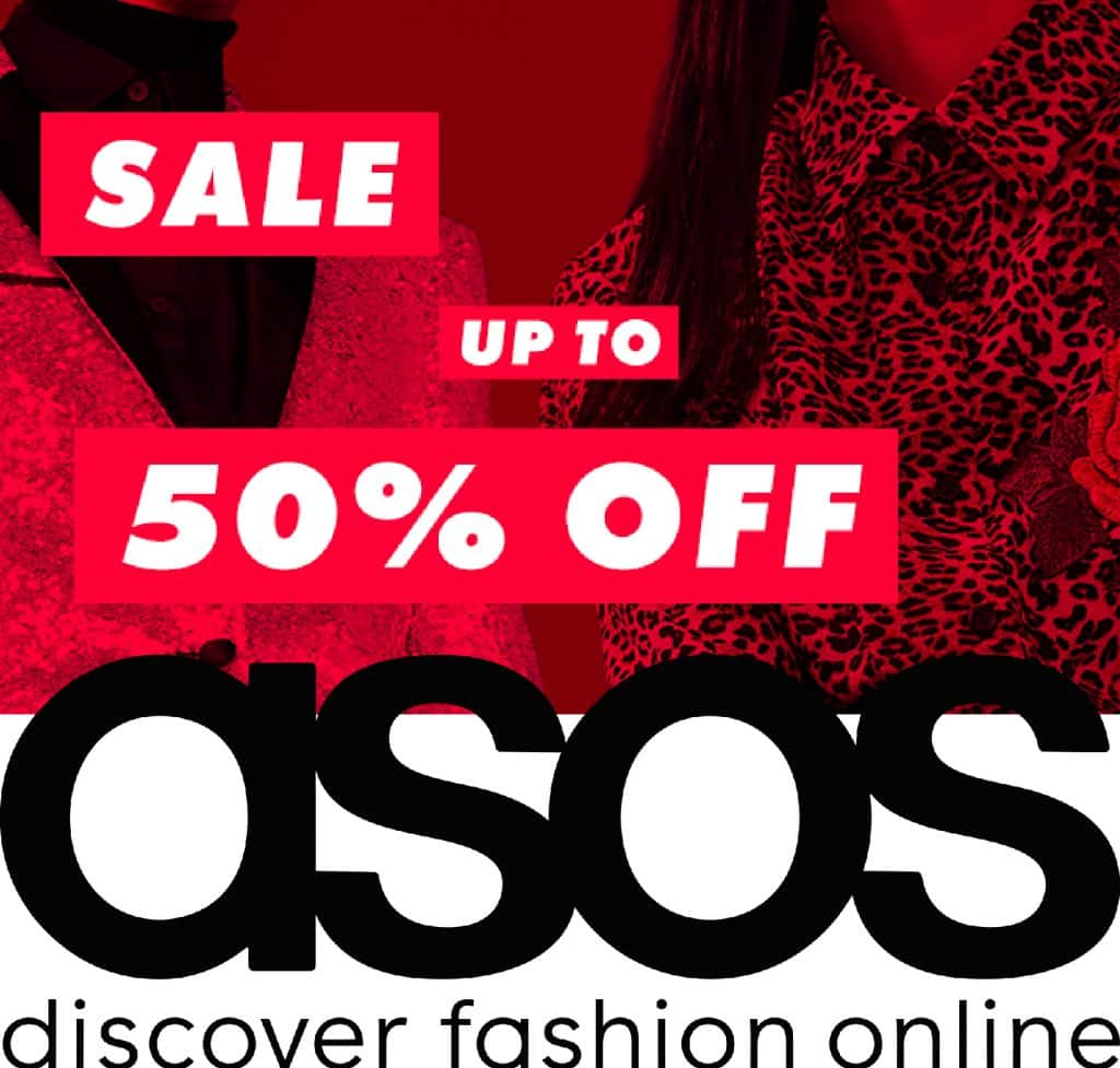 SALE! SALE! SALE! הנחות ענק בASOS עד 50% הנחה על כל האתר! לגברים ונשים
