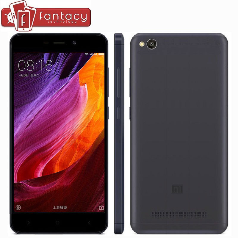 "Original Xiaomi Redmi 4A Snapdragon 425 Quad Core 2G RAM 16G ROM FDD LTE 4G 5"" 13MP 1280x720p MIUI 8.1 OTA Mobile Phone-in Mobile Phones from Phones & Telecommunications on Aliexpress.com 
