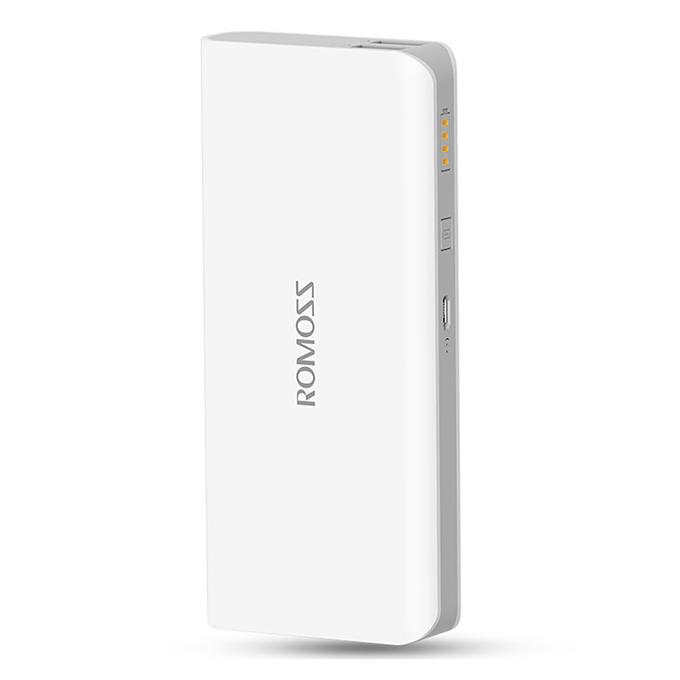 Original ROMOSS Sense4 Dual USB 10400mAh Power Bank