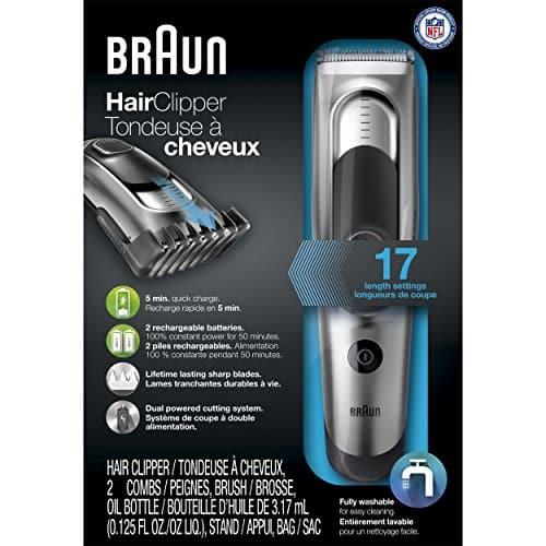 מכונת תספורת Braun HC5090 רק 53$ בלבד!
