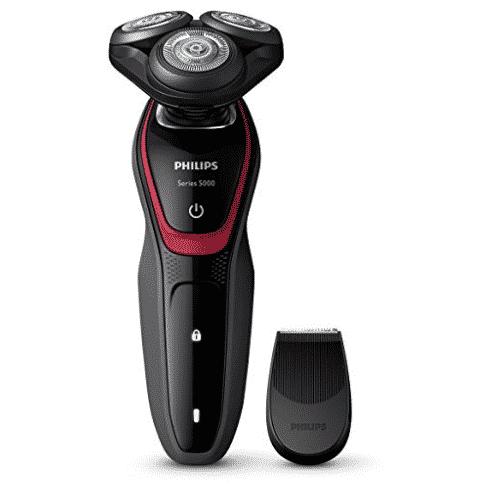 """מכונת גילוח כולל קוצץ פאות Philips Series S5130/06 רק 215 ש""""ח כולל משלוח עד הבית!"""