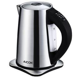 """קומקום חשמלי מעולה בדיל היום באמזון! – Aicok  2200W – רק 259 ש""""ח עד הבית!"""