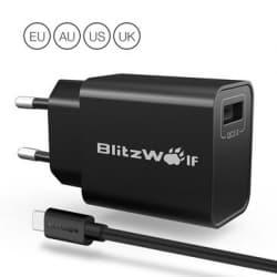 "BlitzWolf® BW-S9 – המטען הכי מומלץ במחיר הכי טוב! רק 7.89$!!! (28ש""ח~)"