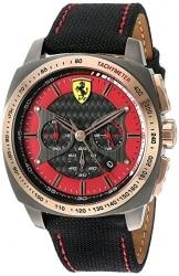 שעון לגבר Ferrari AERO EVO Quartz Resin and Nylon רק 110$ כולל משלוח עד הבית!