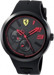 שעון לגבר Scuderia Ferrari Quartz Resin and Silicone רק 63$ כולל משלוח עד הבית!