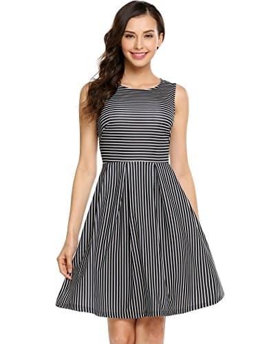 בנות התפקדו! שמלות קיץ בסטייל וינטג' 'Audrey Hepburn' בשלל צבעים והדפסים רק ב4.5-10$ (לפני משלוח) מאמזון!