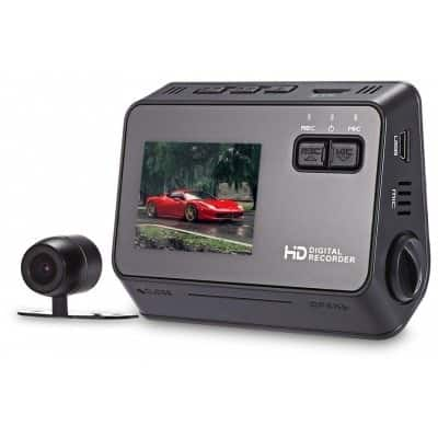 Smarnoo S3 Car Front Rear Camera  מצלמת רכב דו כיוונית עם קבל רק 65$