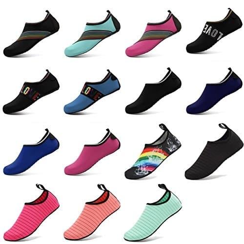 CIOR Water Shoes Barefoot Quick-Dry Aqua Yoga Socks Slip-on רק 14$ כולל משלוח מאמזון