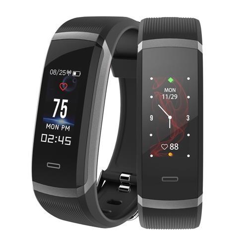 שעון חכם – Makibes HR3 Smart Bracelet – מד צעדים+דופק ועוד, רק ב-$ 17.99!