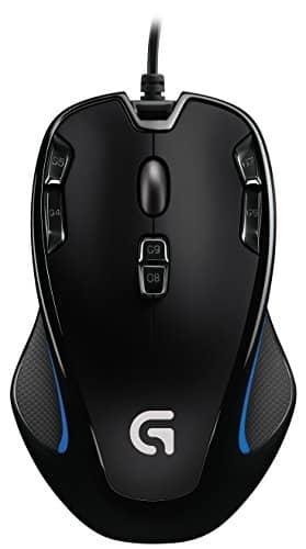 Logitech G300s – עכבר גיימינג – עם ביקורות מעולות – ב- 102 ₪ [בארץ:150₪]