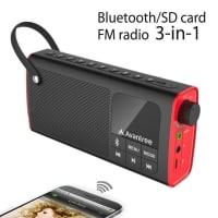 """הבחירה שלנו: Avantree SP850 – רמקול בלוטות' + רדיו – לממ""""ד / מטבח / טיולים – ב-25.49$!"""
