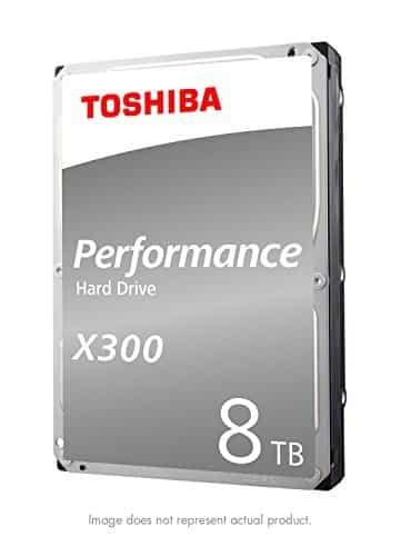 Toshiba X300 – כונן קשיח מהיר מותאם לגיימינג – נפח 8TB – ב-846₪ [בארץ:1,290 ₪] – כולל למשלוח, מיסים ואחריות אמזון !