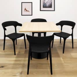 מארחים בחג? דיל בלעדי! סט כיסאות דקורטיבים ב6 צבעים לבחירה ובמחיר שווה!