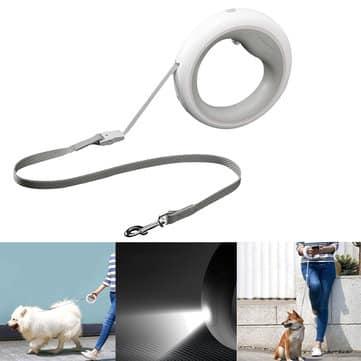 חדש משיאומי! xiaomi moestar ufo – רצועה לכלב – עם תאורה, פנס, גלילה ועוד!