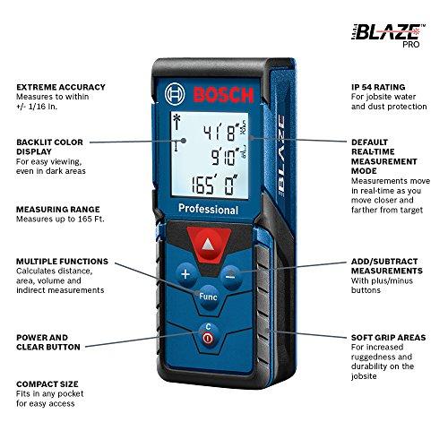 Bosch Blaze Pro – מד טווח לייזר מקצועי בדיל היום – הכי זול שהיה!