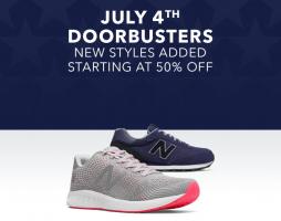 חגיגות 4th of July ב Joe's New Balance Outlet נעלי ניו באלאנס לנשים, גברים וילדים בהנחות שוות!