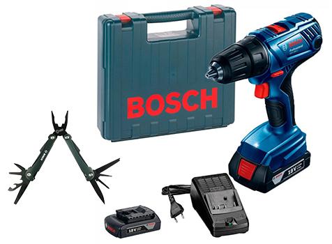 """מברגה/מקדחה מקצועית Bosch GSR 180 LI 18V כולל 2 סוללות ואולר רק ב599ש""""ח!"""