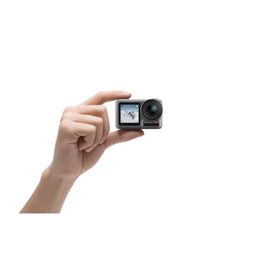 """הכי זול אי פעם! DJI OSMO ACTION – מצלמת האקסטרים האולטימטיבית עם מסך קדמי וייצוב מדהים רק ב1140 ש""""ח עם ביטוח מכס!"""