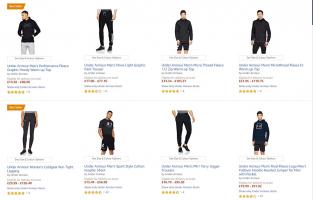 Under Armour בסוף עונה באמזון! 30% הנחה על מבחר ענק של בגדים, תיקים ועוד לנשים וגברים!