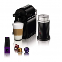 "Nespresso Inissia+ Aeroccino מכונת נספרסו ומקציף חלב – רק ב554 ש""ח עד הבית!"