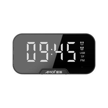 שעון מעורר משולב רמקול בלוטות' ורדיו – רק ב10.99$