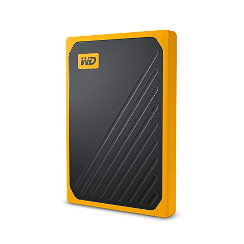 כונן גיבוי חיצוני WD My Passport Go SSD בנפח 500GB – מתחת לרף המכס!