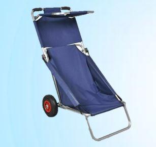 """לים ולטיולים בחגים! עגלת כיסא מתקפלת עם סוכך וגלגלי אוויר – רק ב99 ש""""ח (+35 שח למשלוח עם שליח!)"""
