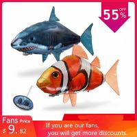 דג זהב / כריש מעופף על שלט – AirSwimmers