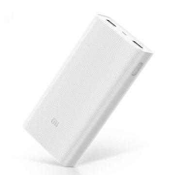 המטען הנייד/סוללה ניידת המומלצת ביותר של שיאומי עם טעינה מהירה – Xiaomi 2C 20000mAh Q C 3.0 רק ב$25.02! כולל משלוח!