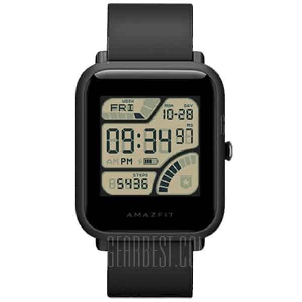 Huami AMAZFIT Bip – שעון ספורט חכם מבית שיאומי – גרסה בינלאומית – רק ב- 52.99$ ועם משלוח מהיר!