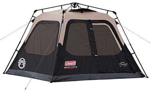 """האוהל הכי מומלץ! Coleman Instant Cabin ל4 אנשים – רק ב505 ש""""ח! (בזאפ 669שח -1099 ש""""ח)"""