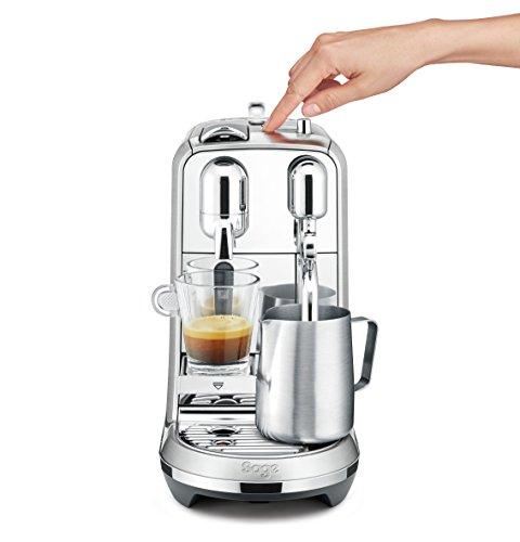 דיל בזק! מכונת הנספרסו הכי יפה! Nespresso Creatista Plus רק ב1457 שח עד הבית! הכי זול אי פעם!