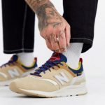 New Balance 997H Cordura trainers in brown