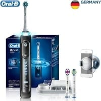 """BRAUN Oral-B iBrush9000 הפרארי של אורל בי! מברשת חשמלית משובחת במחיר מעולה! רק 88$ / 304 ש""""ח"""