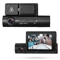 Alfawise LS02 – מצלמת רכב דו כיוונית! עמידה לחום, עם GPS, WIFI ומסך גדול – מתחת לרף המכס!