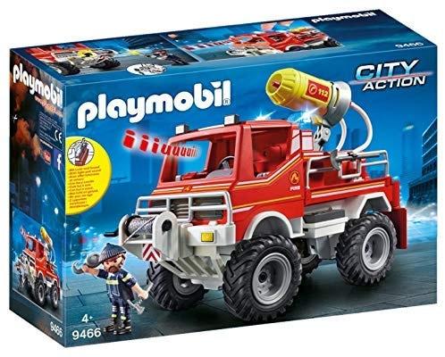 PLAYMOBIL 9466   משאית כיבוי אש אורות וסאונד פליימוביל ב₪55 בלבד! במקום ₪225!