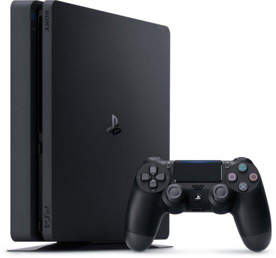 "Sony PlayStation 4 Slim 1TB+ זוג בקרים אלחוטיים + משחק + מעמד אנכי/עמדת טעינה + אחריות יבואן רשמי רק ב1169 ש""ח"