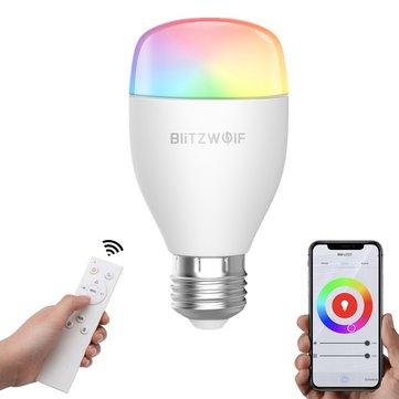 מחיר מדהים! BlitzWolf® BW-LT27 – המנורה החכמה החדשה של בליצוולף – כולל שלט! רק ב9.99$!