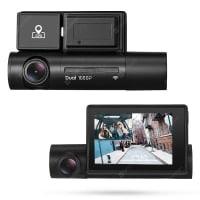 Alfawise LS02 – מצלמת רכב דו כיוונית! עמידה לחום, עם GPS, WIFI ומסך גדול – מתחת לרף המכס! (וגם משלוח מהיר/EPACKET זמין!)