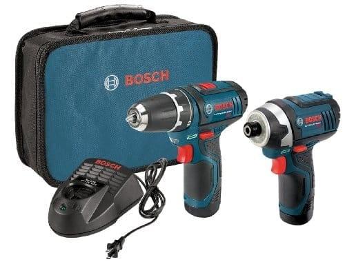 """דיל קודח! סט קומבו Bosch12-Volt עם 2 מברגות-מקדחות רוטטות/אימפקט 12V של בוש עם 2 סוללות – רק ב660 ש""""ח! (ואפשרות הוזלה נוספת!)"""