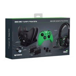 בלעדי! ערכת אביזרי גיימינג ל Xbox One S / X – אוזניות גיימינג, עמדת טעינה כפולה + 2 סוללות וכיסויי סיליקון רק ב₪149!