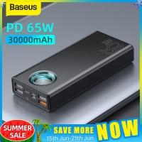 Baseus 65W Power Bank 30000mAh PD – מטען נייד / סוללת גיבוי ענקית! עם טעינה מהירה +כבל 100W במתנה רק ב$39.99 (לפני הנחת קופונים!)