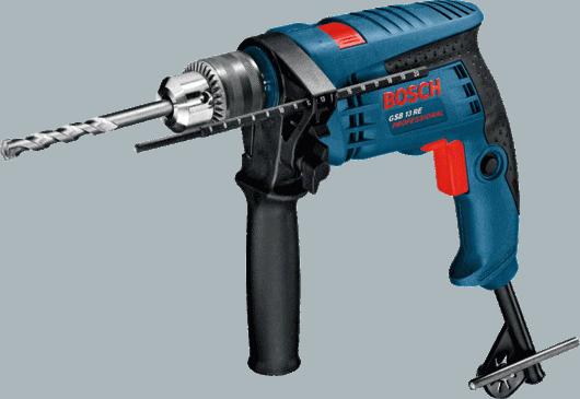 מקדחה רוטטת מקצועית Bosch GSB 13 RE Impact Drill רק ב₪299!