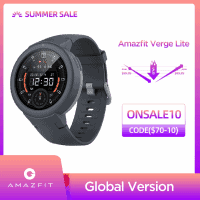 זה יגמר מהר! Amazfit Verge Lite – שעון ספורט חכם ויפיפה בגרסה גלובלית ללא מכס! רק ב$60.99!
