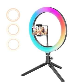BlitzWolf® BW-SL5 – תאורת סלפי RGB ב$29.99