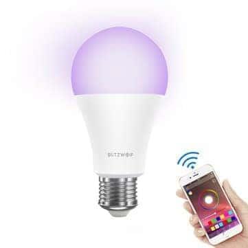 BlitzWolf® BW-LT21 RGBW 10W – מנורה חכמה של בליצוולף! 900 לומן וכל צבעי הקשת, תמיכה באמזון אלקסה, גוגל ועוד רק ב$9.99!