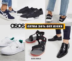 גבר! קבל אקסטרה 20% הנחה על נעליים בOUTLET בASOS!