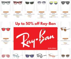 דיל היום! משקפי שמש מבית Ray-Ban וOakley עד 50% הנחה!