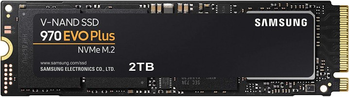 Samsung 970 EVO Plus 2TB – מהכוננים הכי מומלצים, מהירים ואמינים שיש בנפח ענק! רק ב1488 ₪ במקום ₪2495!